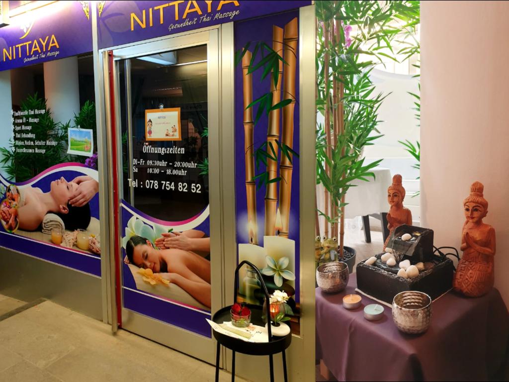 Eingang Nittaya Massage